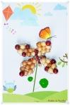 Tuto – Une fleur en perle … en bois!
